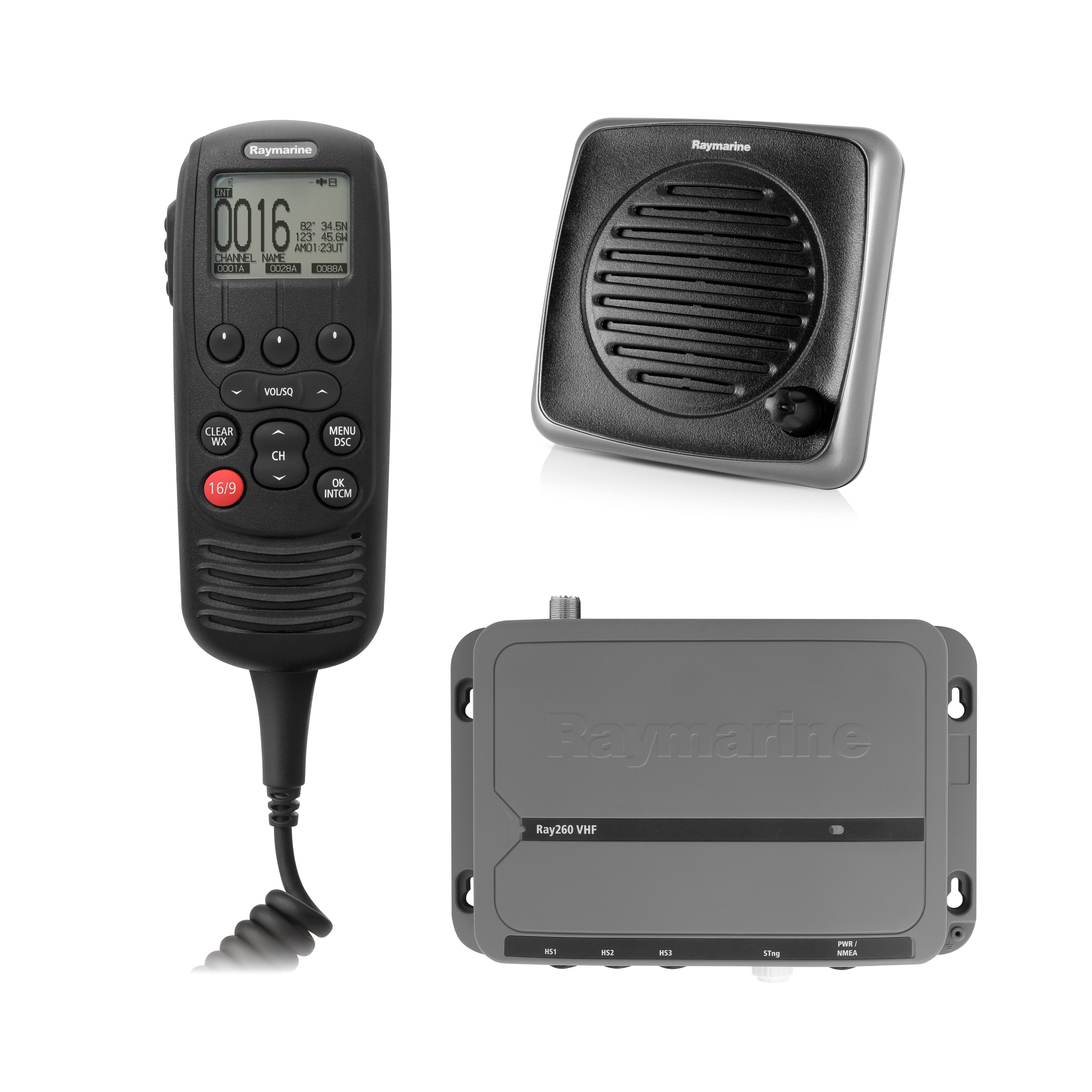 raymarine-ray260-vhf-radio-and-transceiver-eu-with-active-speaker