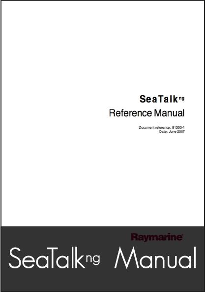 raymarine seatalk ng reference manual