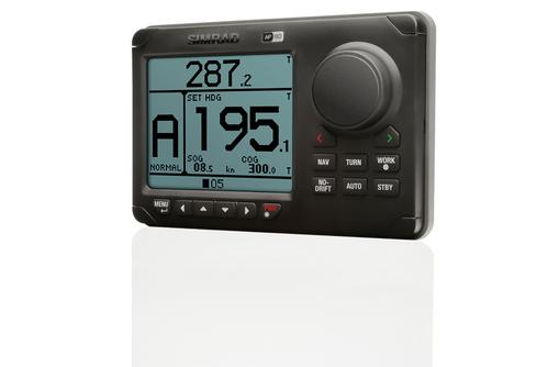 simrad ap60 autopilot controller left view