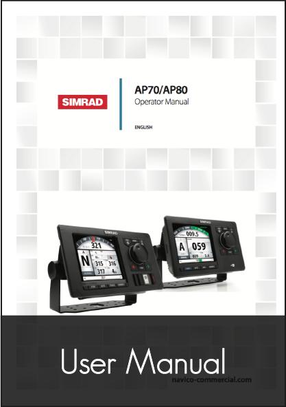 simrad ap70 ap80 autopilot control head user manual
