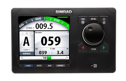 simrad ap70 autopilot controller front view