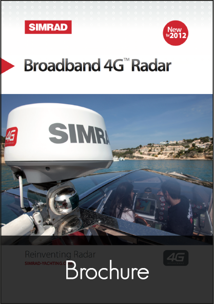 simrad broadband 4g radar brochure