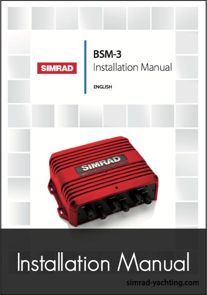 simrad bsm 3 broadband sonar module installation manual