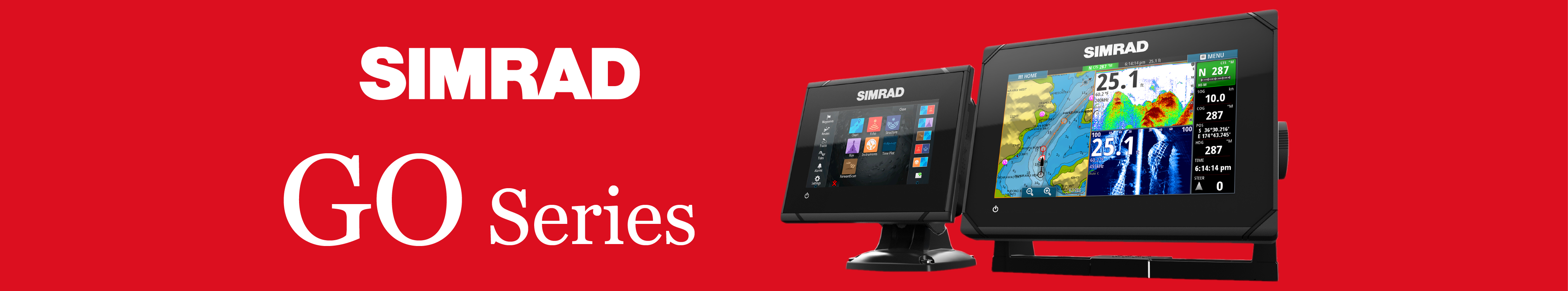 simrad go series multifunction display banner