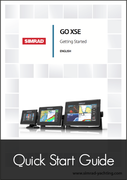 simrad go xse 5 7 9 multifunction display getting started