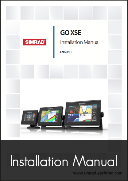 simrad go xse 5 7 9 multifunction display installation instructions