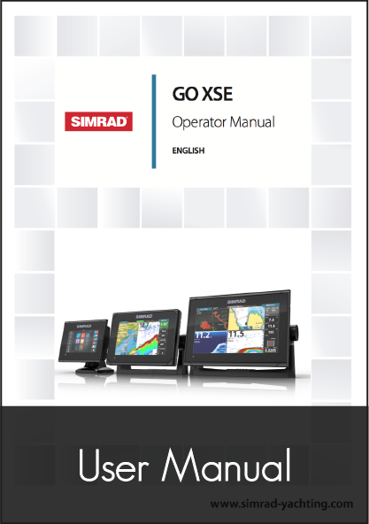 simrad go xse 5 7 9 multifunction display user manual