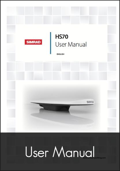 simrad hs70 gps compass user manual