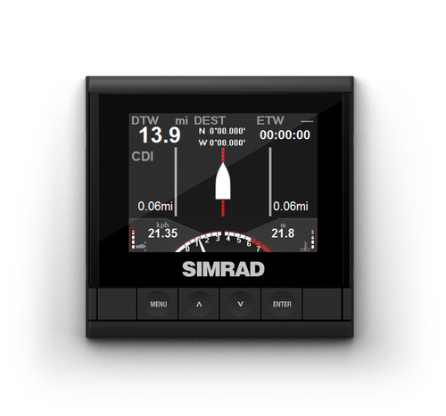 simrad is35 colour instrument display motor steer