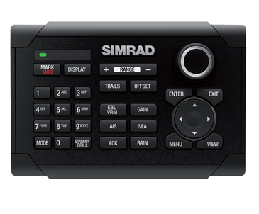 simrad o2000 wired remote controller radar