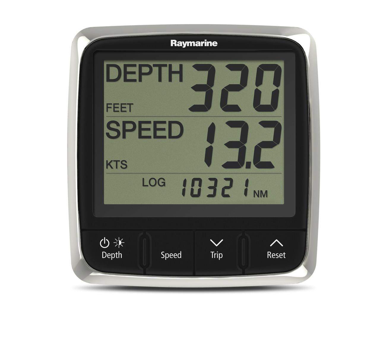 Raymarine i50 Tridata Instrument Display Front View