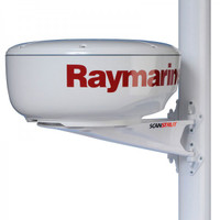 "Raymarine Mast Mount Bracket for 18"" (456mm) Radome Scanner"