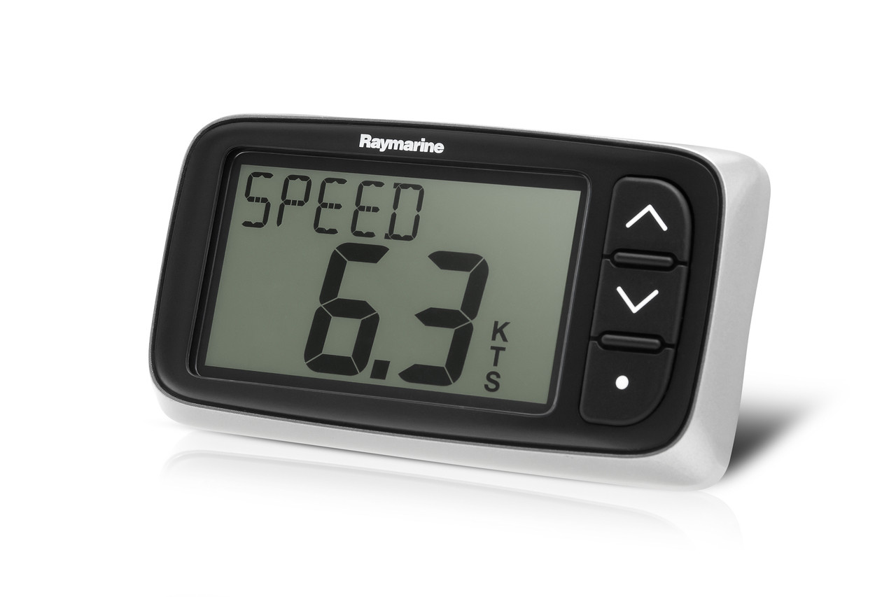 Raymarine i40 Speed Pack Instrument Display Left View