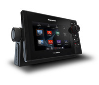 Raymarine eS75 HybridTouch Multifunction Display Left View