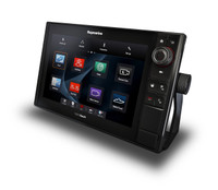 Raymarine eS127 HybridTouch Multifunction Display Right View