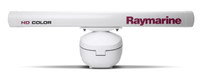 "Raymarine 12kW 48"" HD Colour Open Array Radar Front View"