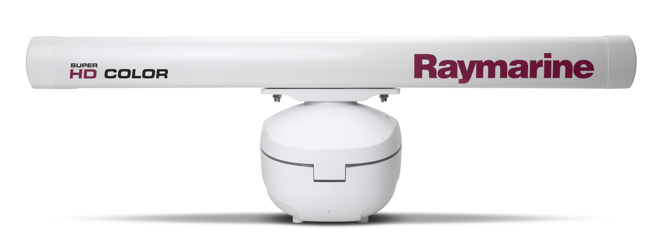 "Raymarine 12kW 48"" SHD Colour Open Array Radar Front View"