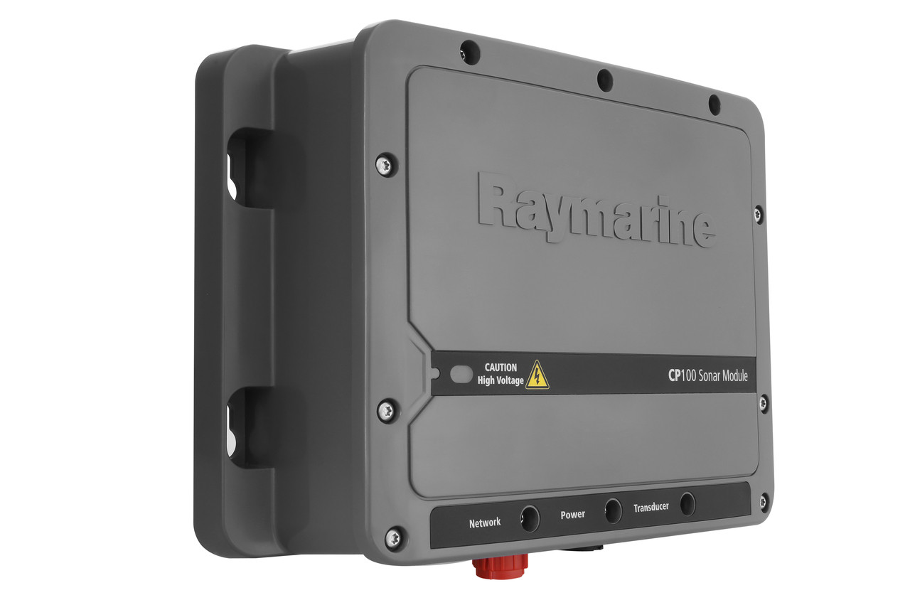 Raymarine CP100 Downvision Fishfinder Sonar Module Left View