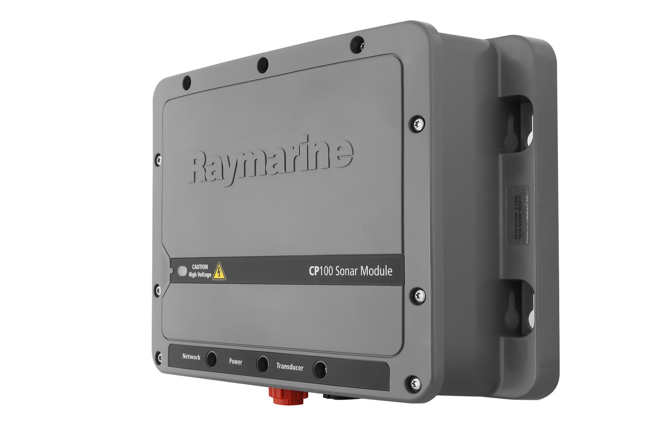 Raymarine CP100 Downvision Fishfinder Sonar Module Right View