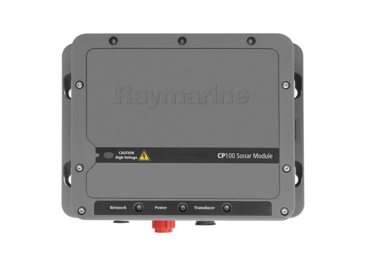 Raymarine CP100 Downvision Fishfinder Sonar Module Front View