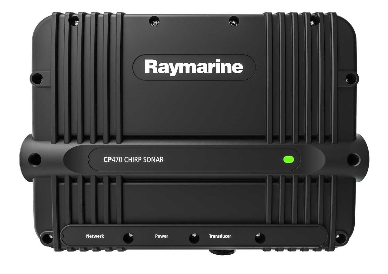Raymarine CP470 ClearPulse Chirp Sonar Module Front View