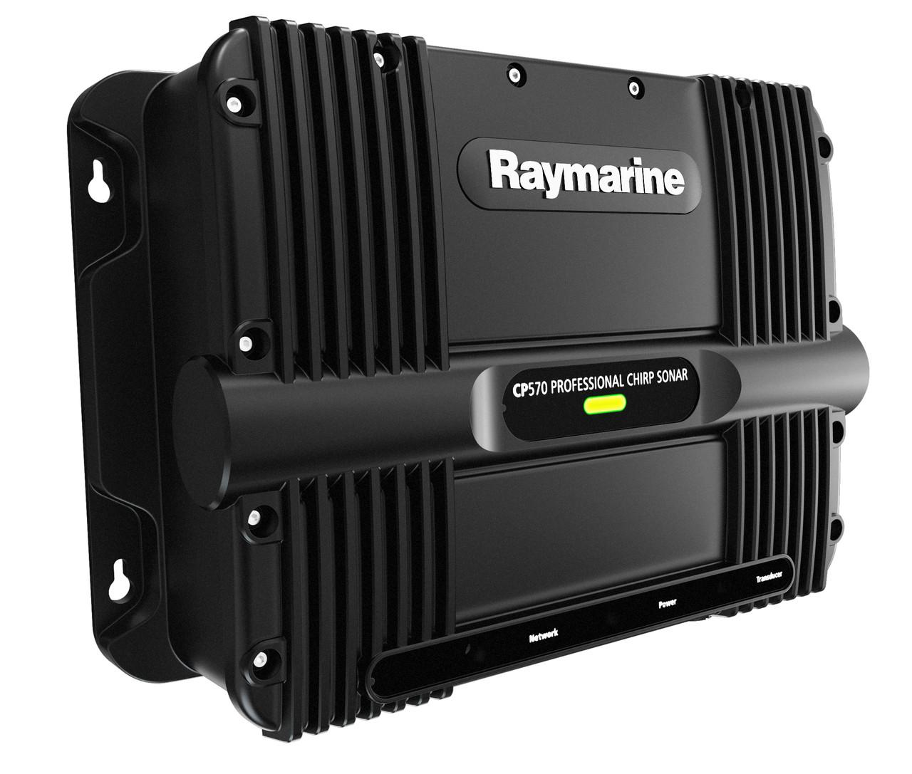 Raymarine CP570 ClearPulse Chirp Sonar Module Fishfinder Extreme Left View