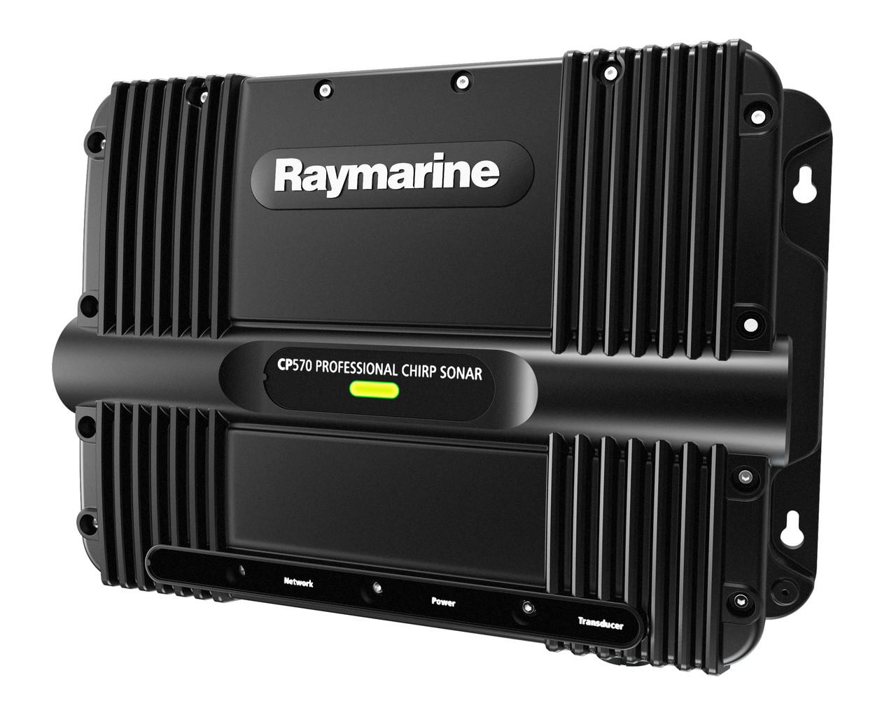 Raymarine CP570 ClearPulse Chirp Sonar Module Fishfinder Right View