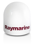 Raymarine 33STV 33cm Satellite TV Front View North America