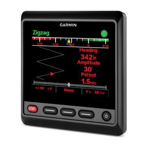 Garmin GHC 20 Marine Autopilot Display Left View