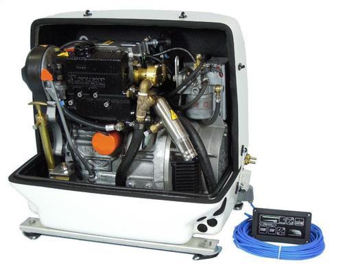 Paguro 9000V Marine Generator Open