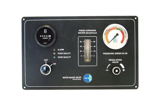 Dessalator D60 Freedom Watermaker Control Panel