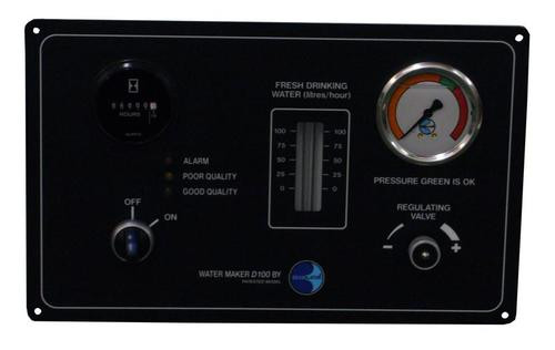 Dessalator D100 Cruise Watermaker Control Panel