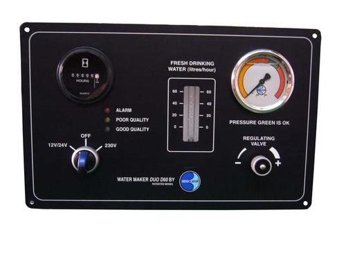 Dessalator D100 DUO Watermaker Control Panel