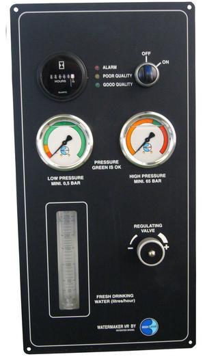 Dessalator D160 PRO Watermaker Vertical Control Panel