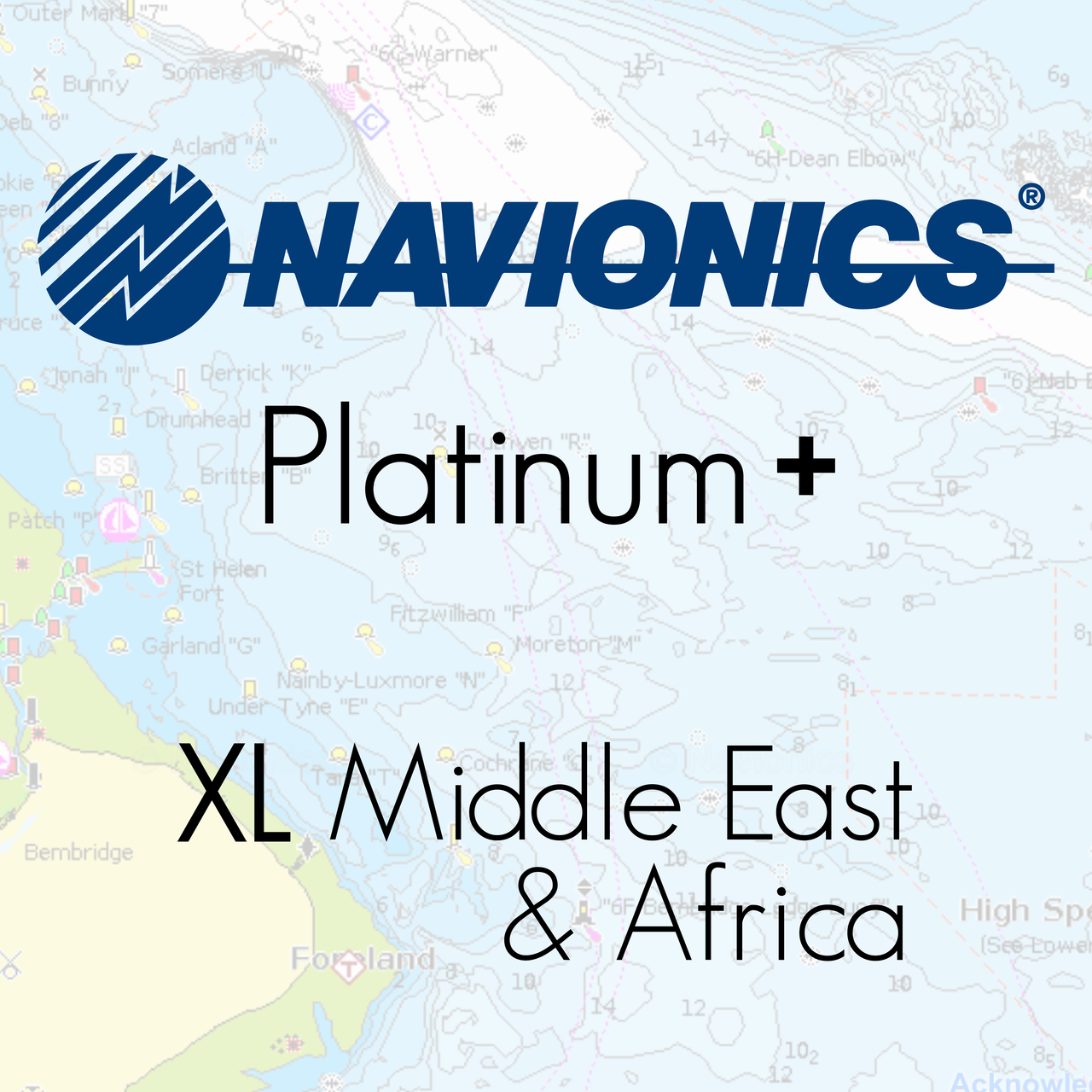 Navionics Platinum Plus XL Middle East & Africa Marine Charts