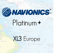 Navionics Platinum Plus XL3 Europe Marine Charts