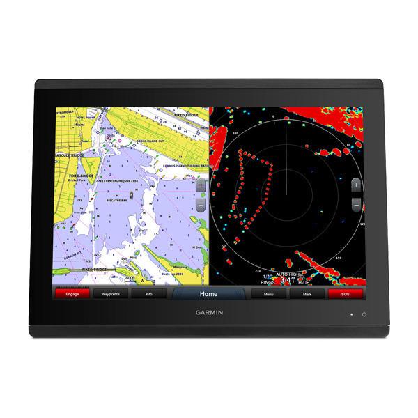 Garmin GPSMAP 8417 Multifunction Display Map Radar Front View