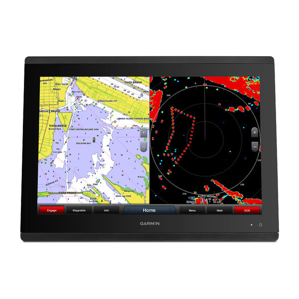Garmin GPSMAP 8424 Multifunction Display Map Radar Front View