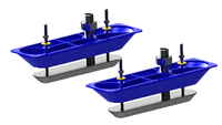 Lowrance StructureScan™ HD Stainless Steel Transducer Pair