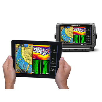 Lowrance GoFree WIFI-1 Module iPad with HDS Gen2