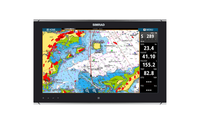 Simrad MO19-T Monitor Chart and Radar Overlay