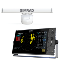 Simrad R3016 Radar Control Unit with HALO 4
