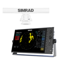 Simrad R3016 Radar Control Unit with TXL-10S-4 Radar
