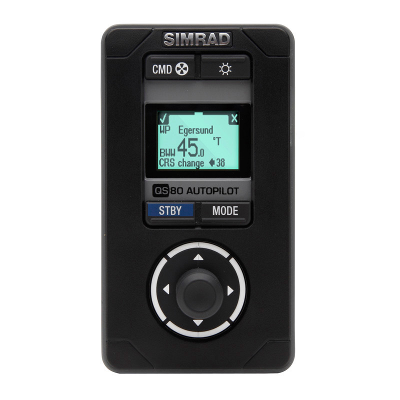 Simrad QS80 Quick Stick Remote Front View
