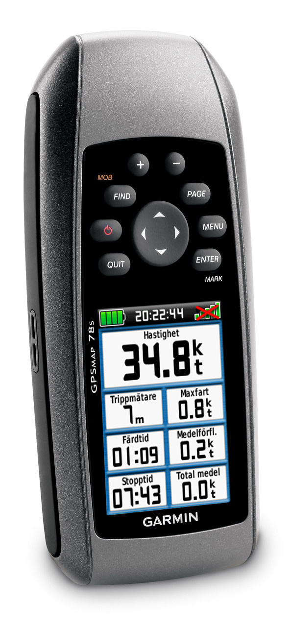 Garmin GPSMAP 78s Right View