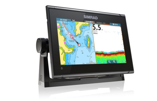 Simrad GO9 XSE Multifunction Display Right View