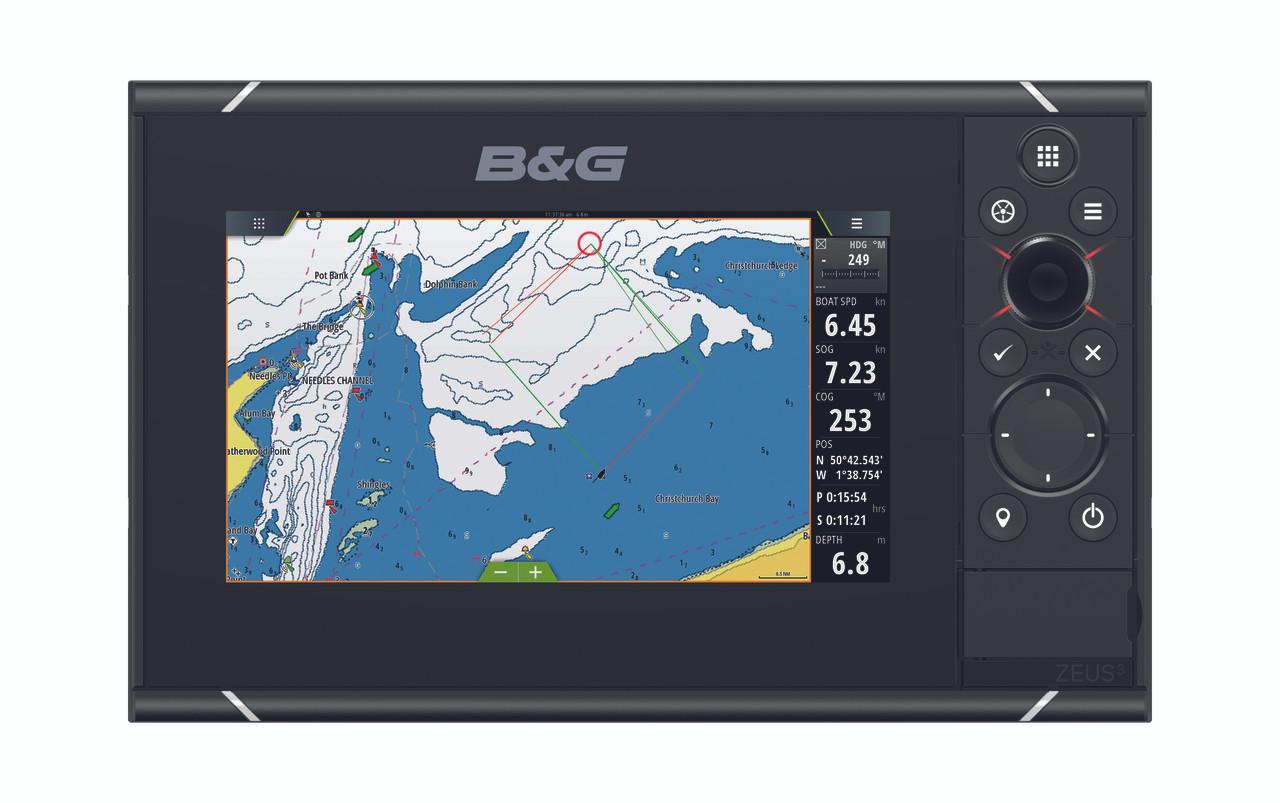 B&G Zeus³ 7 Multifunction Display Front View