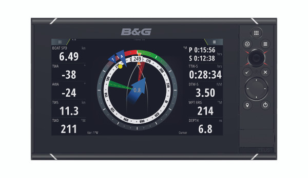 B&G Zeus³ 9 Multifunction Display Front View