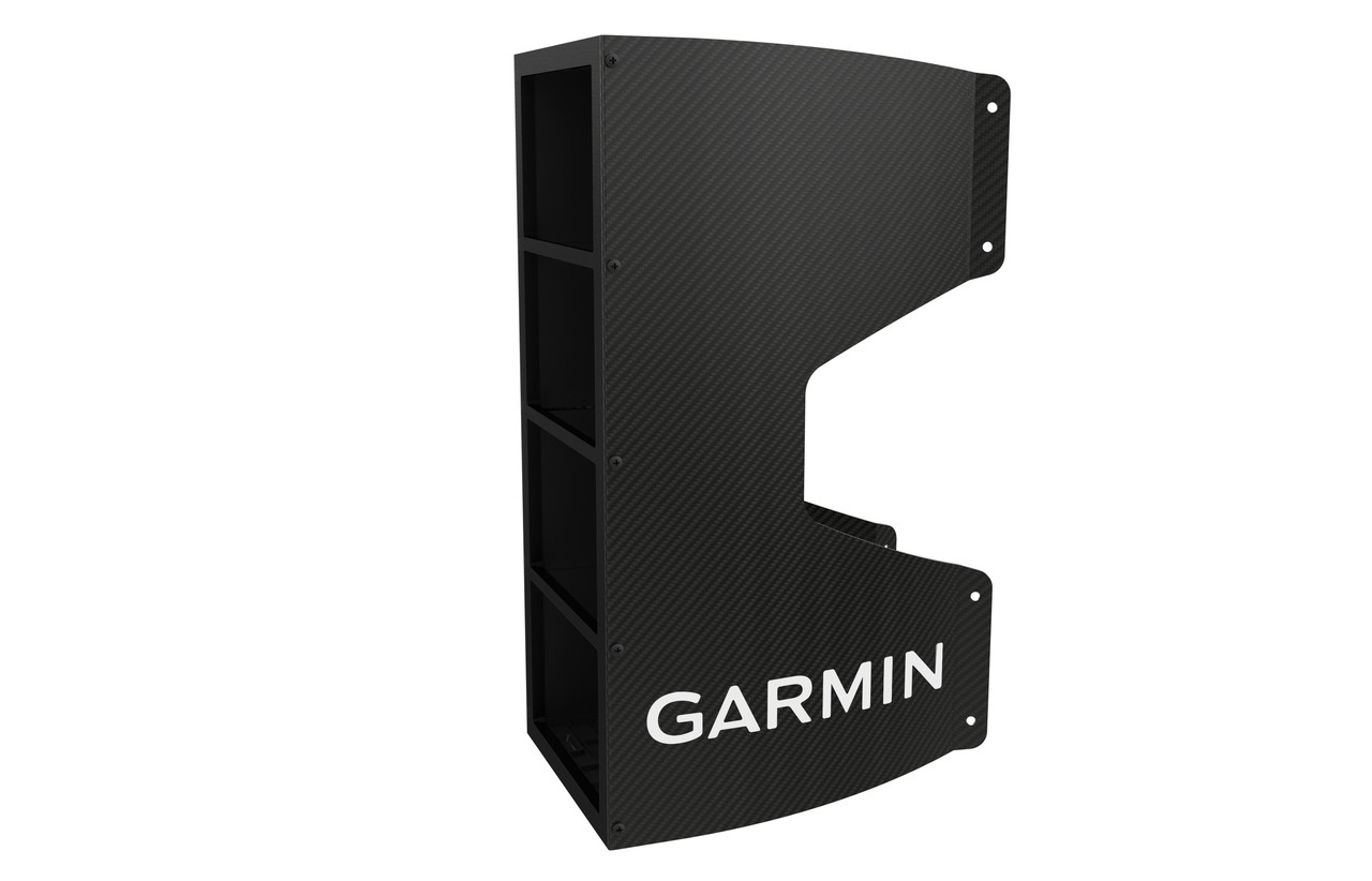 Garmin Carbon Fibre Mast Bracket (4 Units) Hard Right View