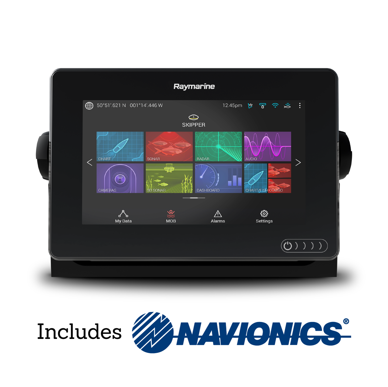 Raymarine Axiom 7 Multifunction Display with Navionics